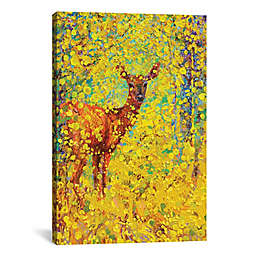 White Tailed Deer Canvas Wall Art