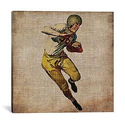 iCanvas Vintage Sports III Canvas Wall Art