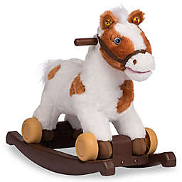 Rockin' Rider Carrot 2-in-1 Rocking Pony in White