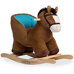 Rockin' Rider® Cuddles Baby Rocker in Brown