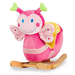 Rockin' Rider® Blossom the Butterfly Baby Rocker in Pink