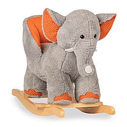 Rockin' Rider® Ernie the Elephant Baby Rocker in Grey