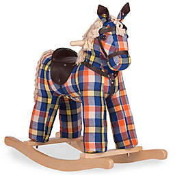 Rockin' Rider Checkers Vintage Rocking Horse