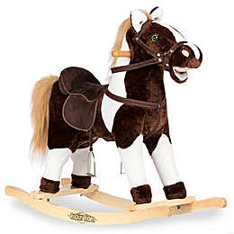 Rockin' Rider® Tex Rocking Horse in Tan