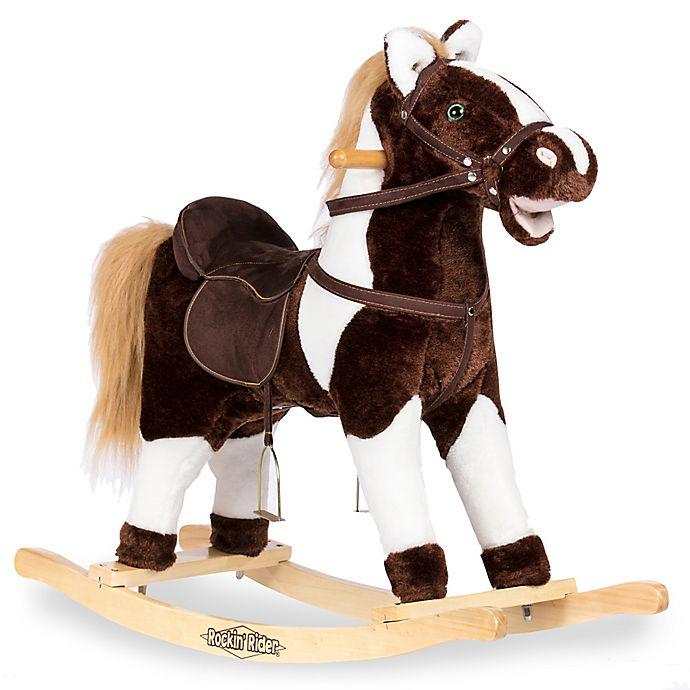 Alternate image 1 for Rockin' Rider® Tex Rocking Horse in Tan
