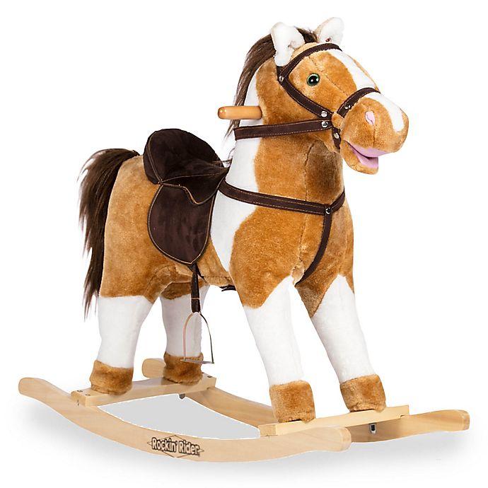 Alternate image 1 for Rockin' Rider® Turbo Rocking Horse in Brown