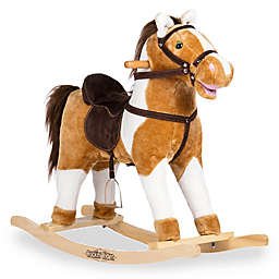Rockin' Rider® Turbo Rocking Horse in Brown