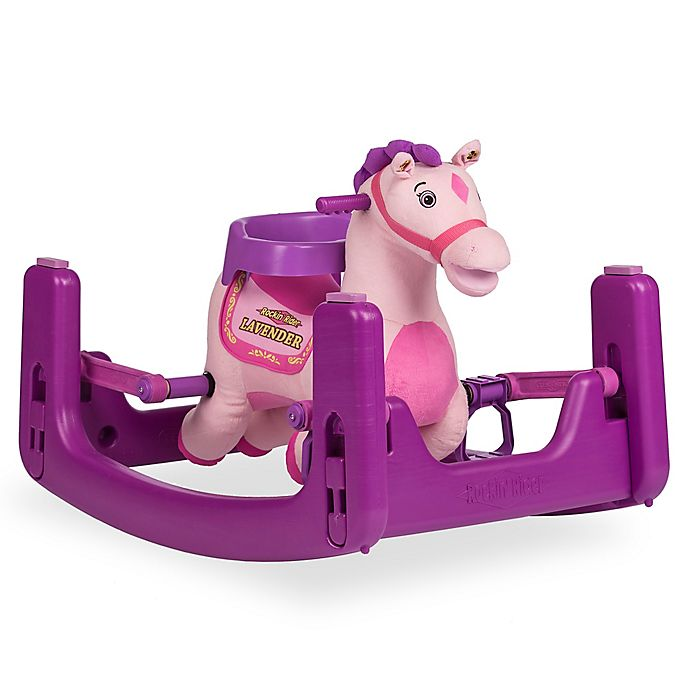 Alternate image 1 for Rockin' Rider Lavender Grow-With-Me Pony in Pink