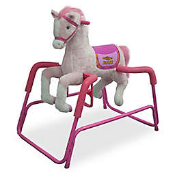 Rockin' Rider Daisy Spring Rocking Horse in Pink