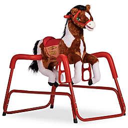 Rockin' Rider Prince Spring Rocking Horse in Brown