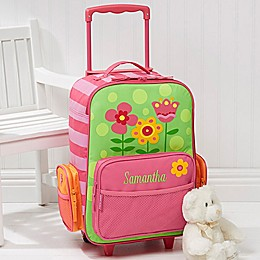 Stephen Joseph® Pretty Flowers Embroidered Rolling Luggage
