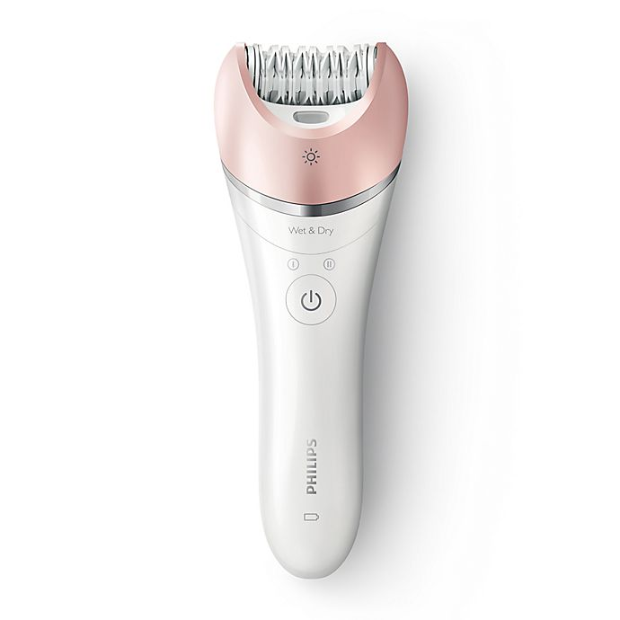 Alternate image 1 for Philips Model BRE640/00 Satinelle Advanced Wet & Dry Epilator