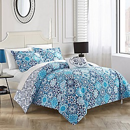 Chic Home Linden Reversible Duvet Cover Set
