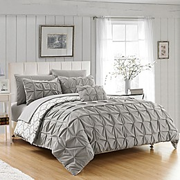 Chic Home 8-Piece Reversible Duvet Cover Set