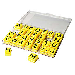Educational Insights® Jumbo Uppercase Alphabet Stamps