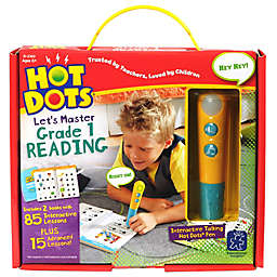 Educational Insights® Hot Dots® Jr. Let's Master Grade 1 Reading