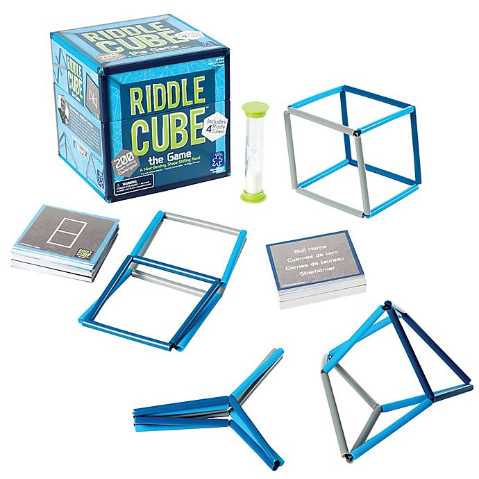 Alternate image 1 for Educational Insights® RiddleCube The Game