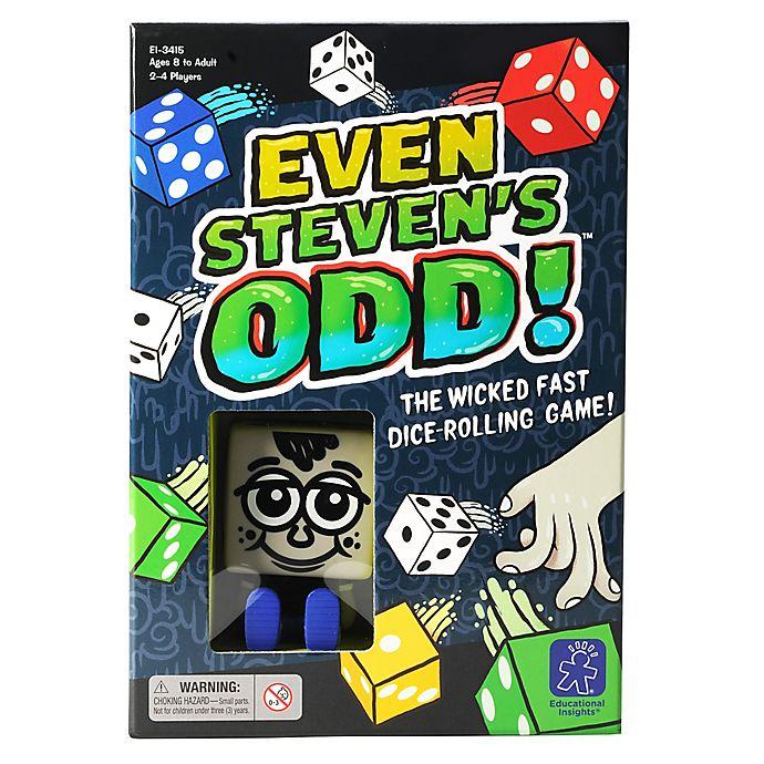 Alternate image 1 for Educational Insights® Even Steven's Odd!™ Game