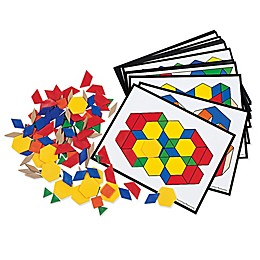Learning Resources® Pattern Block Activity Set