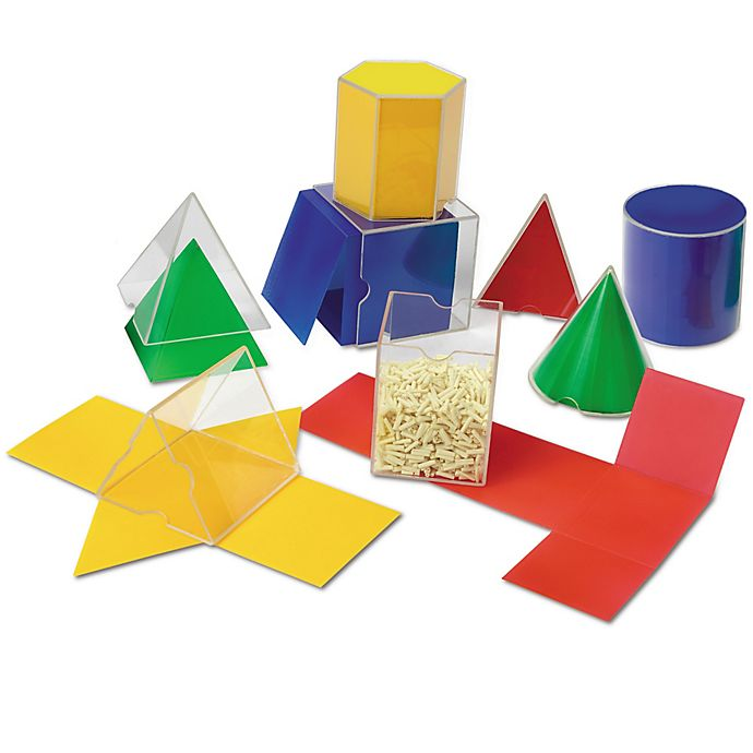 Alternate image 1 for Learning Resources® Folding Geo Shapes