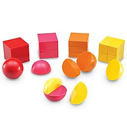 Learning Resources® Magnetic 3-D Fraction Shapes