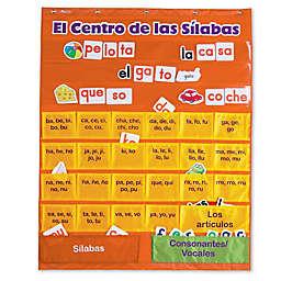 Learning Resources® El Centro de las Silabas Chart