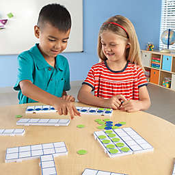 Learning Resources® 166-Piece Connecting 10-Frame Trays Set