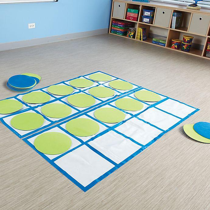 Alternate image 1 for Learning Resources® Ten-Frame Floor Mat Activity Set