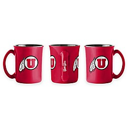University of Utah 15 oz. Sculpted Café Mug