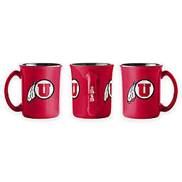 University of Utah 15 oz. Sculpted Café Mug