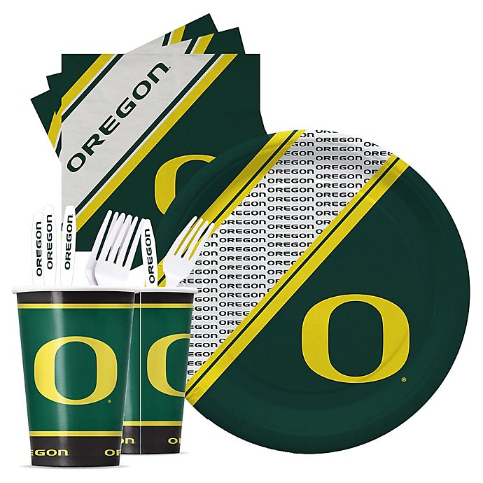Alternate image 1 for University of Oregon Party Pack