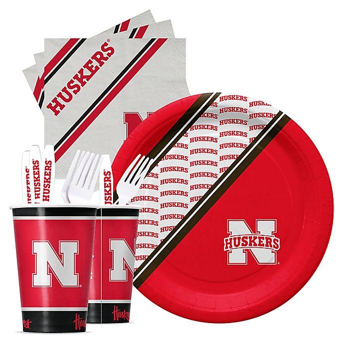 Alternate image 1 for University of Nebraska Party Pack