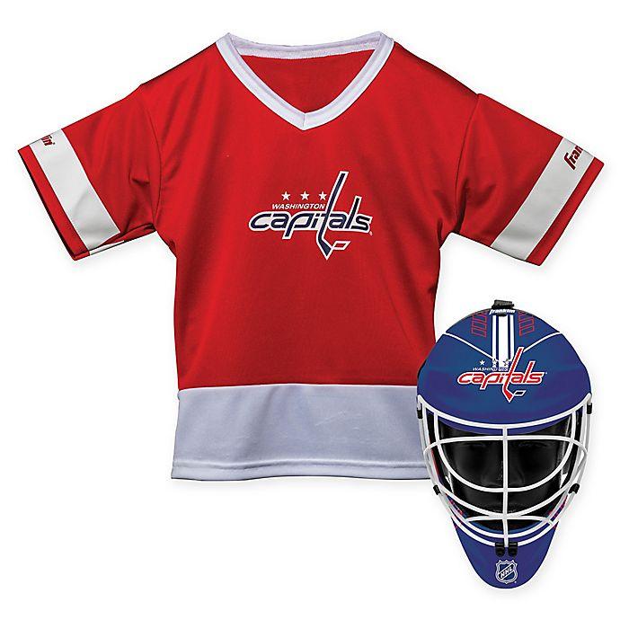 Alternate image 1 for NHL Washington Capitals Youth 2-Piece Team Uniform Set
