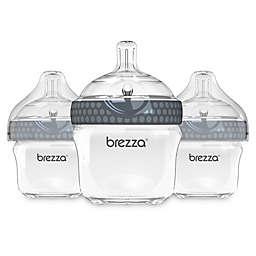 babybrezza® 3-Pack 5-Ounce Stage 1 Polypropylene Bottles