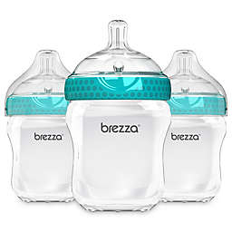 babybrezza® 3-Pack Stage 2 9-Ounce Polypropylene Bottles