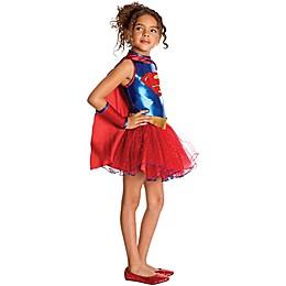 Supergirl Tutu Child's Halloween Costume
