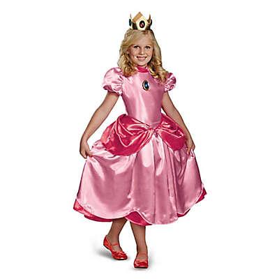 Super Mario Princess Peach Deluxe Child's Halloween Costume