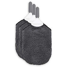 babybrezza® 3-Pack Bottle Cleaning Cloth in Grey
