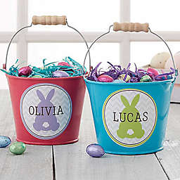 Easter Bunny Mini Metal Bucket