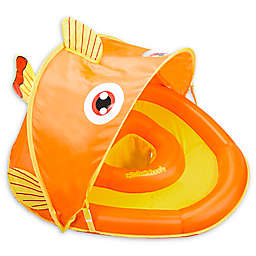 Aqua Leisure® Grow-with-Me SunShade Gold-E-Fish Baby Float