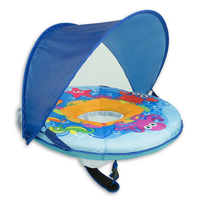 Alternate image 1 for Aqua Leisure® Self Inflating BabyBoat in Blue