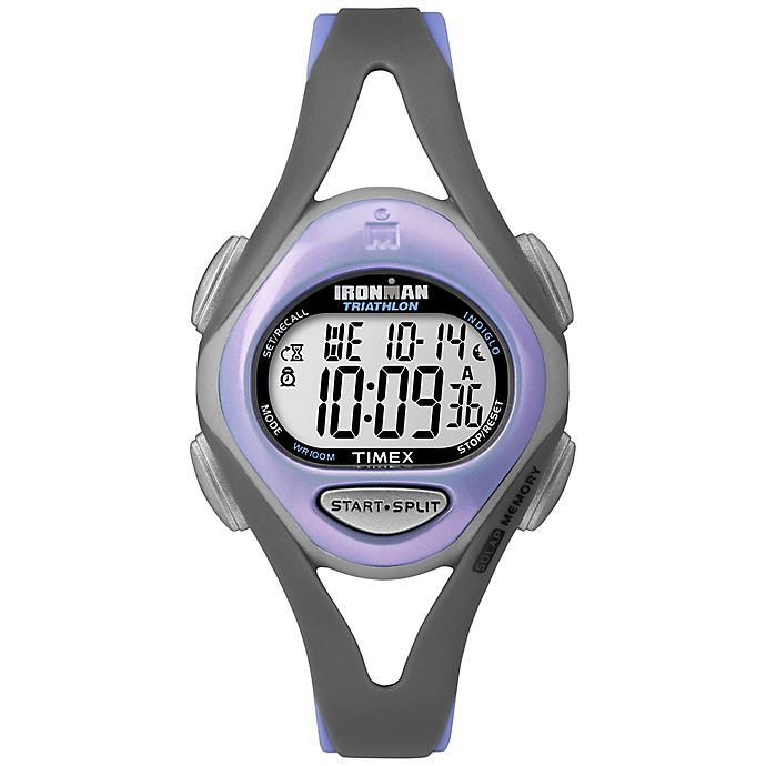 Alternate image 1 for Timex® Ironman® Sleek 50 Ladies' 33mm Watch with Resin Strap