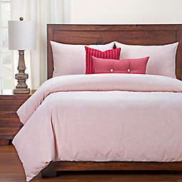 SIScovers® Modern Farmhouse Heritage Twin Duvet Cover Set in Red/White