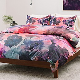 Deny Designs Schatzi Brown Le Fleur Duvet Cover
