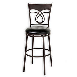 Fashion Bed Group Madison 30-Inch Bar Stool in Umber/Black