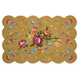 Nourison Everywhere Vibrant Floral Scallop Area Rug