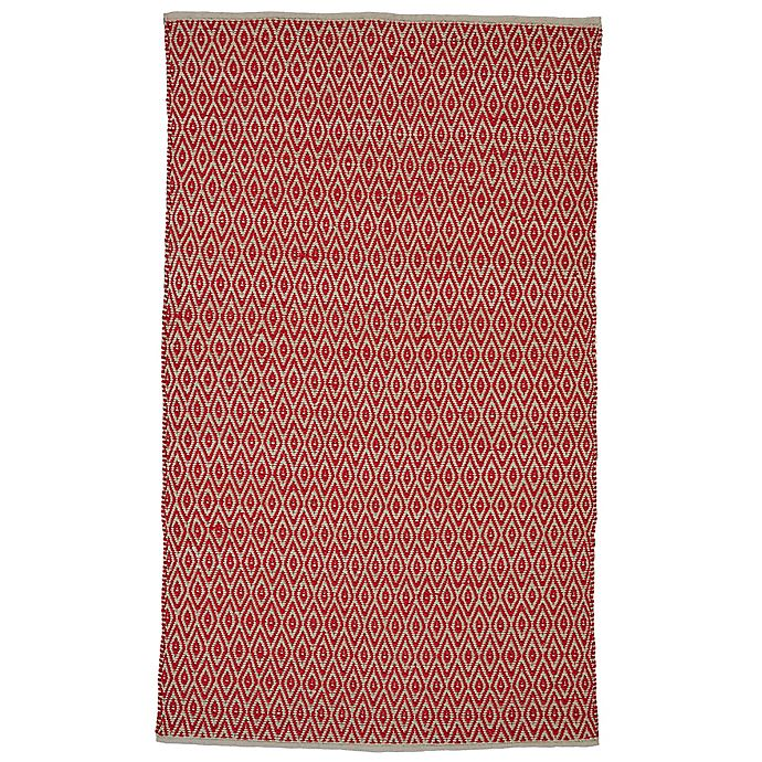 Alternate image 1 for Feizy Norrington 8-Foot x 11-Foot Area Rug in Ruby