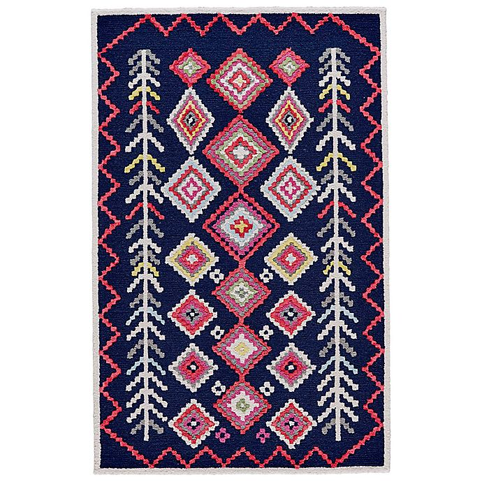 Alternate image 1 for Feizy Awareh 8-Foot x 10-Foot Area Rug in Navy/Multi