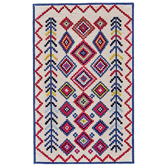 Alternate image 1 for Feizy Awareh 8-Foot x 10-Foot Area Rug in Ivory/Multi