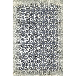 Feizy Chantal Floral 7-Foot 4-Inch x 10-Foot 3-Inch Area Rug in Dark Grey